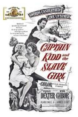 Captain Kidd and the Slave Girl DVD Cover Art