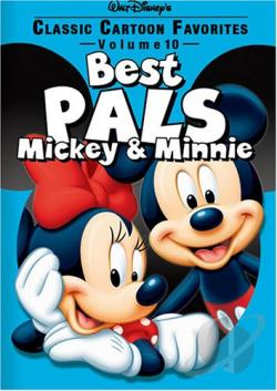 Classic Cartoon Favorites - Best Pals Mickey & Minnie - Vol. 10 DVD Cover Art