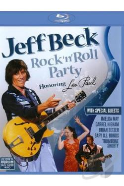 Jeff Beck: Rock 'n' Roll Party Honoring Les Paul BRAY Cover Art
