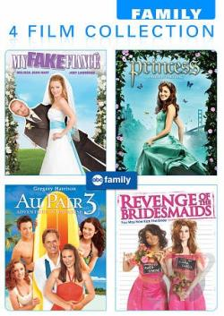 4 ABC Family Original Movies DVD Cover Art