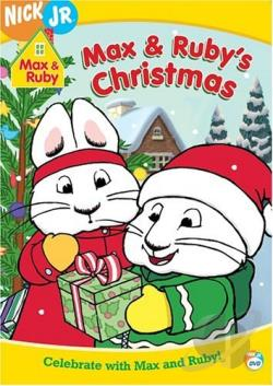 Max and Ruby - Max and Ruby's Christmas DVD Cover Art