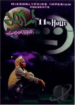 Del the Funky Homosapien - The 11th Hour DVD Cover Art