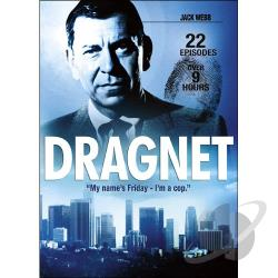 Dragnet: 22 Episodes DVD Cover Art
