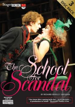 School for Scandal DVD Cover Art