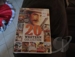 20 Film Western Collection DVD Cover Art