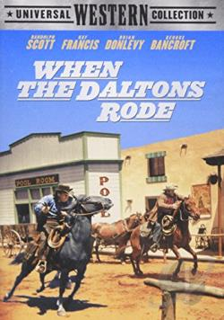When the Daltons Rode DVD Cover Art