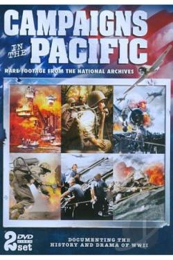 Campaigns in the Pacific DVD Cover Art