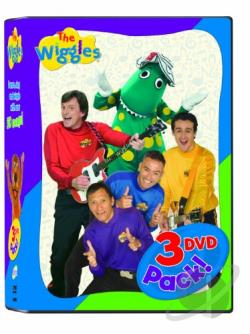 Wiggles 3-Pack DVD Cover Art