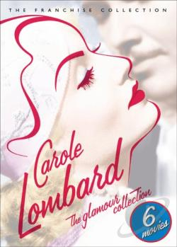 Carole Lombard: The Glamour Collection DVD Cover Art