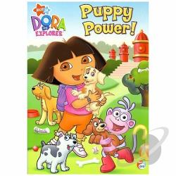 Dora the Explorer - Puppy Power DVD Cover Art