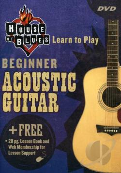 House of Blues Presents - Beginning Acoustic Guitar DVD Cover Art