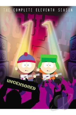 South Park - The Complete Eleventh Season DVD Cover Art