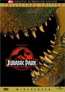 Jurassic Park DVD Cover Art
