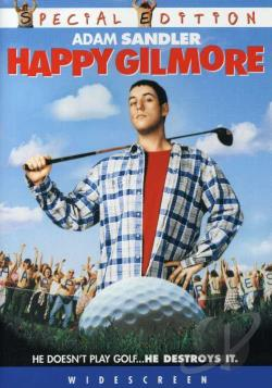 Happy Gilmore DVD Cover Art