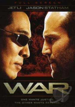 War DVD Cover Art