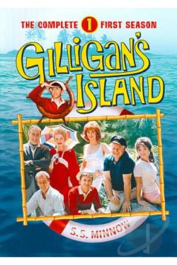 Gilligan's Island - The Complete First Season DVD Cover Art
