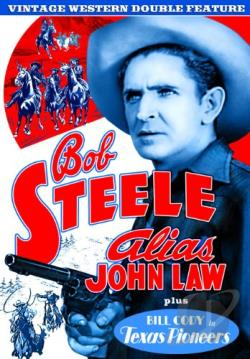Vintage Western Double Feature: Alias John Law/Texas Pioneers DVD Cover Art