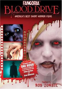 Fangoria Blood Drive: America's Best Short Horror Films DVD Cover Art