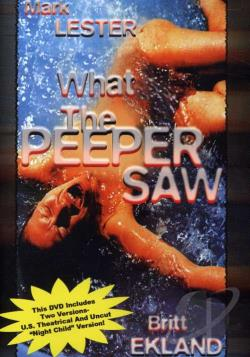What the Peeper Saw DVD Cover Art