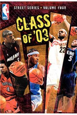 NBA Street Vol. 4: Class of 03 DVD Cover Art