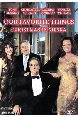 Our Favorite Things - Christmas in Vienna DVD Cover Art