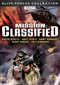 Elite Forces Collection - Mission: Classified: American Commandos / American Commando - Night Riders DVD Cover Art