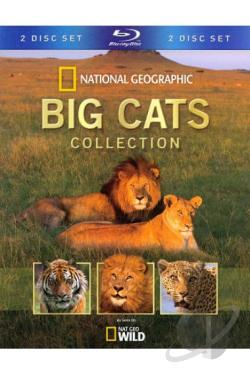 National Geographic: Big Cats Collection BRAY Cover Art