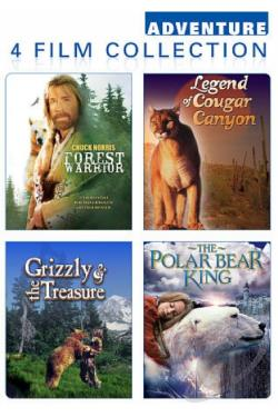 Wilderness Adventure 4 Pack DVD Cover Art