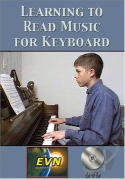 Learning to Read Music for Keyboard DVD Cover Art