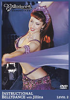 Bellydance Superstars: Les Lecons de Jillina, Vol. 2 DVD Cover Art