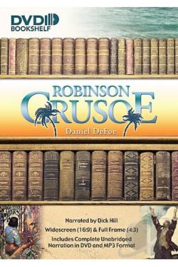 DVD Bookshelf - Robinson Crusoe DVD Cover Art