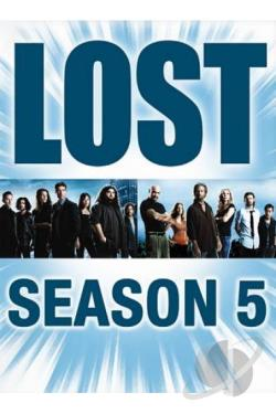 Lost - The Complete Fifth Season DVD Cover Art