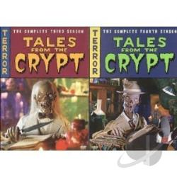Tales from the Crypt - The Complete Seasons 3 & 4 DVD Cover Art
