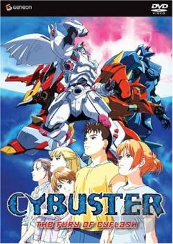 Cybuster - Vol. 6: The Fury of Cyflash DVD Cover Art