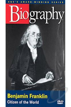 Biography: Benjamin Franklin DVD Cover Art