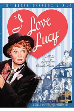 I Love Lucy - The Complete 7th, 8th and 9th Seasons DVD Cover Art