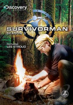 Survivorman - The Complete Third Season DVD Cover Art