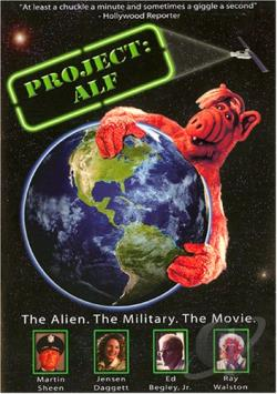 Project: Alf DVD Cover Art