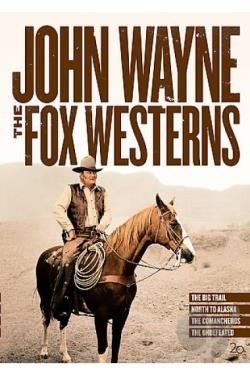 John Wayne - The Fox Westerns DVD Cover Art