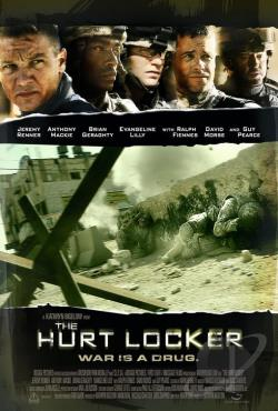 Hurt Locker DVD Cover Art