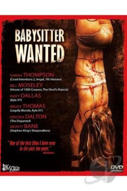 Babysitter Wanted DVD Cover Art