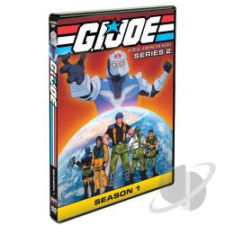 G.I. Joe: A Real American Hero - Series 2, Season 1 DVD Cover Art