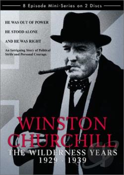 Winston Churchill: The Wilderness Years DVD Cover Art