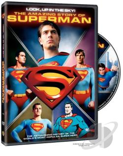 Look, Up In The Sky! - The Amazing Story Of Superman DVD Cover Art