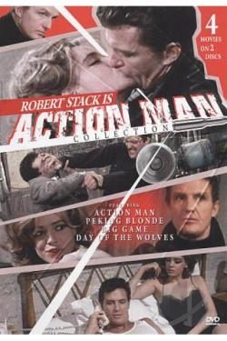 Action Man/Peking Blonde/The Big Game/The Day of the Wolves DVD Cover Art