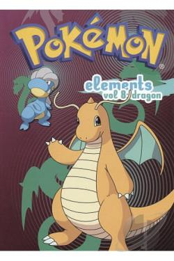 Pokemon Elements, Vol. 8: Dragon DVD Cover Art