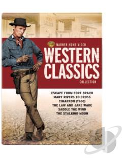 Warner Home Video Western Classics Collection DVD Cover Art