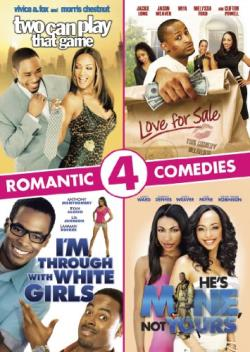 Two Can Play That Game/Love for Sale/I'm Through with White Girls/He's Mine, Not Yours DVD Cover Art
