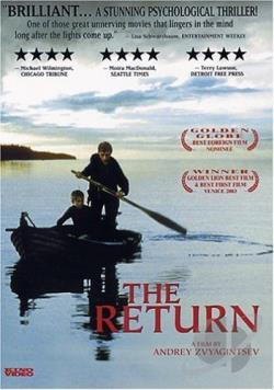 Return DVD Cover Art