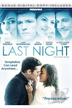 Last Night DVD Cover Art